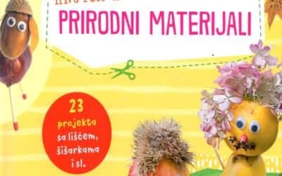 Moja knjiga kreativnih radova – Prirodni materijali