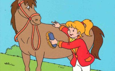Bojanka Kraljevne / bojanka konji