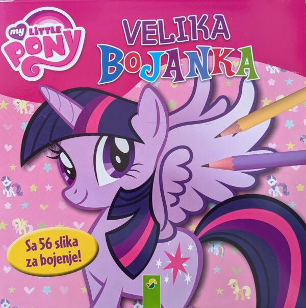 Velika bojanka My Little Pony